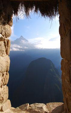 - Machu Picchu, Peru- what a view