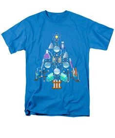 Oh #Chemist Tree - Oh Christmas Tree  T-Shirt by #Gravityx9 Designs