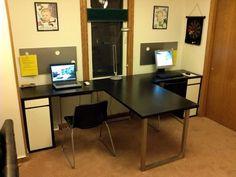 IKEA Hackers: Vika + Micke = Workstation