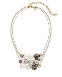 Geneva Short Pearl Illusion Necklace #chicossweeps