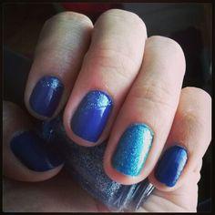 Mi manicure de hoy :)