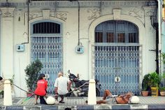 The life in George Town, Penang