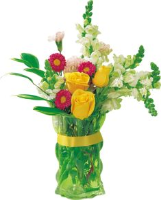 bouquets, flowers, tube, flowers
