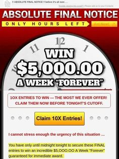 Milled is a search engine for email newsletters. Find sales, deals, coupons, and discount codes from retailers and brands. I RRojas Claim My Entries To Win This Prize. Lotto Winning Numbers, Winning Lotto, Lotto Numbers, Lottery Winner, Instant Win Sweepstakes, Online Sweepstakes, Vacation Sweepstakes, Investing Apps, Win For Life