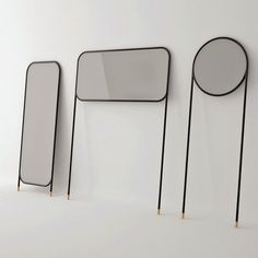 Eriya mirrors-collection by Omelet