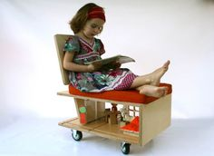 If Its Hip, Its Here: Qubis - Amy Whitworths Modern Doll Houses That Double As Furniture.