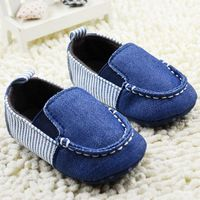Baby Boy 2015 Brand New Soft-soled Shoes For Toddler Denim Patch Children Cotton Slip-On First Walkers Months Soft Baby Shoes, Baby Boy Shoes, Baby Boots, Toddler Shoes, Baby Shoes Pattern, Shoe Pattern, Baby Shoes Tutorial, American Girl Doll Shoes, Accessoires Barbie