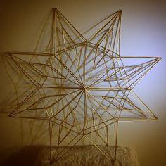 Innostu-Onnistut: Tähti iso - OHJE Iso, Chandelier, Ceiling Lights, Mobiles, Helmet, Home Decor, Homemade Home Decor, Candelabra, Chandeliers