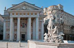 Trieste. Piazza della borsa