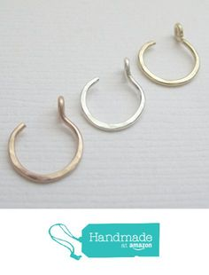 Silver Body Jewellery, Rose Gold Jewelry, Copper Jewelry, Body Jewelry, Copper Rings, Rose Gold Septum Ring, Sterling Silver Nose Rings, Gold Nose Rings, Faux Septum Ring