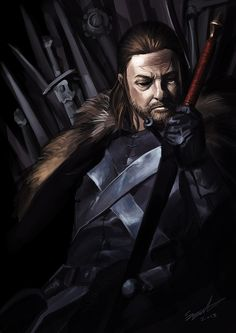 For my next few studies I'm going to do some of the characters from Game of Thrones to celebrate season 3. First up Eddard Stark. Enjoy fellow GOT fans!