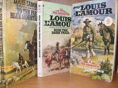 Three Louis L'Amour Vintage Paperback Novels  by TheVintageDresser
