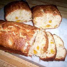 Homemade Peach Bread Recipe (photo doesn't do it justice) and more fresh peach recipes