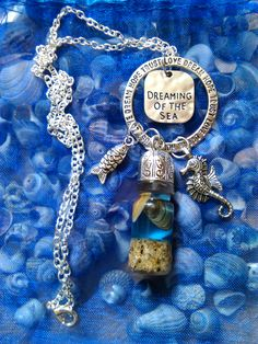 Dreaming of the Sea Jewellery, just put some on Etsy and made some ready for my summer craft fairs