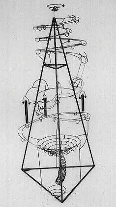 Cheborgie (Version 2) Kinetic art rolling ball machine sculpture by Bruce Gray. $6,000.00, via Etsy.