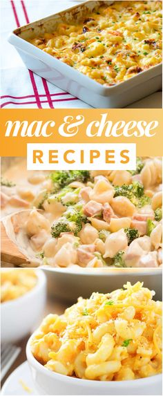 20 Incredible Mac and Cheese Recipes - Do you love macaroni and cheese? Check out this delicious roundup of my favorite mac and cheese recipes! Mac Cheese Recipes, Macaroni And Cheese, Tasty, Yummy Food, Delicious Meals, Cheese Lover, Incredible Recipes, Pasta Dishes, Food To Make
