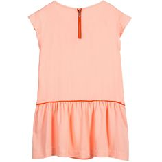 KARL LAGERFELD Kids - Apricot Pink 'Karleidoscope' Jersey Dress | Childrensalon