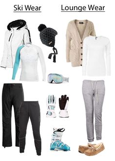 Whatever you may have in mind for your ski trip, our stylist can help you create fabulous outfits that will keep you nice and toasty.