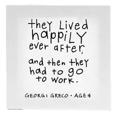 Kids' quotes: They Live Happily Ever After Canvas Wall Art