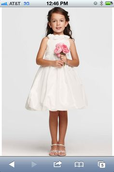 Sofia's flower girl dress but in coral with navy flowers