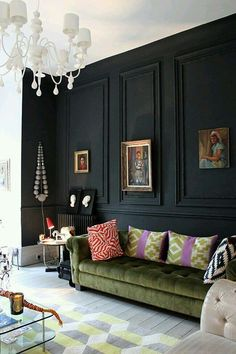 Black wall, what do you think??