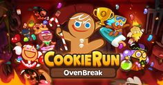 Bake no prisoners! Come join me in this sweet escape adventure and run with players all over the world! Get Ready, Set, Cookie Run!
