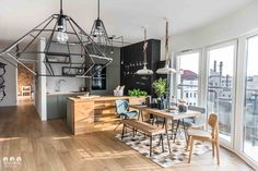 Gorgeous Apartment With Modern Decoration - Home Design Ideas Kitchen Interior, Kitchen Design, Nordic Design, Nordic Style, Scandinavian Interior, Beautiful Interiors, Home Decor Inspiration, Modern Decor, Sweet Home