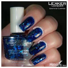 Lekker Lacquer - Holiday/Winter 2013 Collection - Santa's Curfew