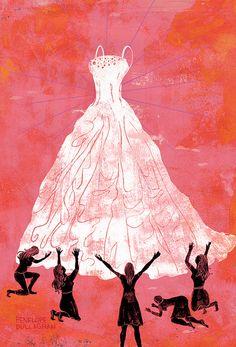 Washington Post by penelope dullaghan // Cuando vemos un vestido que nos enamora