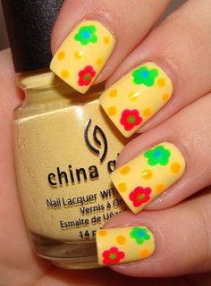 Le Nail Art se met au printemps! - Mode - Be