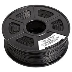Absonic High Quality PLA 3D Printer Filament 1.75mm Diameter, Dimensional Accuracy  /-0.02 mm, 1Kg (2.2 lbs) Spool, Black * More info could be found at the image url.