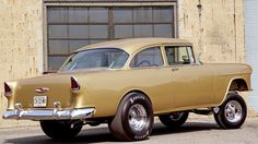 Very cool 1955 Chevy gasser.