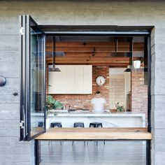 casa de madera acabados metalicos