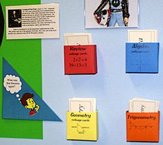 The Mathematics 500 - High school math bulletin boards