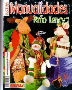Blog de Santa clauss: Revistas navideñas gratis 2014 Christmas Books, All Things Christmas, Christmas Lights, Christmas Crafts, Christmas Ornaments, Book Crafts, Crafts To Make, Craft Books, Fabric Toys