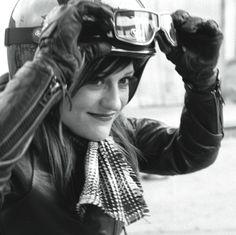 Scott Pommier Stacie B. London helmet