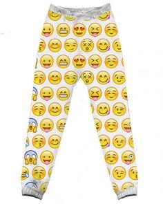 Pre Order Emoji Jogger Pants – Fresh-tops.com❤❤
