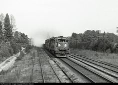 RailPictures.Net Photo: SCL 1519 Seaboard Coast Line EMD GP40 at New Hill, North Carolina by Wharton Separk