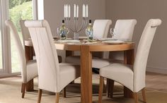 Ballina 7 Piece Dining Setting  Dining Furniture  Dining Room Mesmerizing Dining Room Chairs Oak Decorating Design
