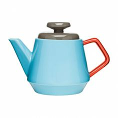 POP Pot, Turquoise/Red/Brown  #kitchen #dining #BBQ #food #black #green #blue #elegant #Decor #shopping #furniture #homeware #picnic #kerros #casserole  #bamboo  #squeezer #bottle #grill #plate #pot