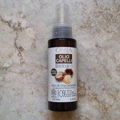 Stasera vi propongo la mia prima opinione su prodotti per #capelli! Questo è un olio per capelli di @omia_lab all'olio di macadamia che promette di rendere i capelli luminosi e idratati; si p…