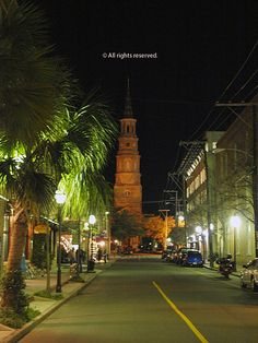 Charleston South Carolina... At the Corner of Church Street and Market Street. My absolute favorite area of the city... Tommy Condons Irish Pub is at the next corner. Best Irish nachos and Magners Cider Beer!! We eat here at least once or twice a day that we are in Charleston! Friendly staff and wonderful service!