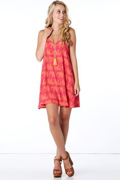 Infinite Love Pink Swing Dress at reddressboutique.com