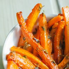 Parsley-Ginger Baked Carrot Fries #Carrot_Fries #HealthyAperture