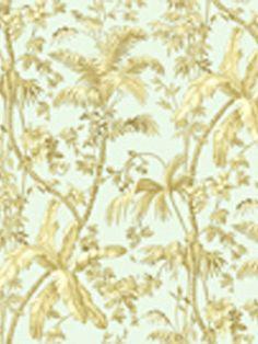 DecoratorsBest - Detail1 - YO AT4192 - TROPICAL TOILE - AT4192 - Wallpaper - DecoratorsBest