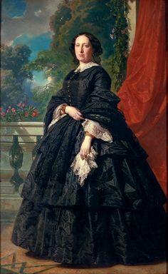 Federico de Madrazo y Kuntz (12 February 1815, Rome – 10 June 1894, Madrid) Carlota Quintana Badia, 1869.