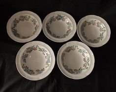 "5 jas broadhurst ""maytime"" bowls"