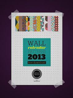 Free 2013 Calendar By Impulso Creativo
