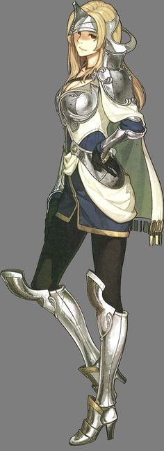 Mathilda Character Art from Fire Emblem Echoes: Shadows of Valentia Female Character Design, Character Design Inspiration, Character Concept, Character Art, Concept Art, Fire Emblem Characters, Dnd Characters, Fantasy Characters, Female Characters