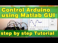 Arduino and Matlab GUI Tutorial - HowToMechatronics Delta Robot, Arduino Board, Robot Design, Facebook Sign Up, User Interface, Circuit, Periodic Table, Coding, Education